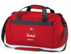 Personalised I LOVE HOCKEY Bag Mini Holdall BG200